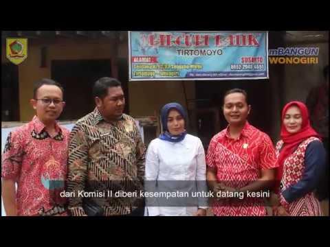 Kunjungan Kerja Komisi II DPRD Kabupaten Wonogiri