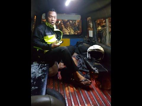 DOORRR... Letusan Peluru Menyalak Lumpuhkan Penyanderaan Ibu & Bayinya di Angkot Mp3
