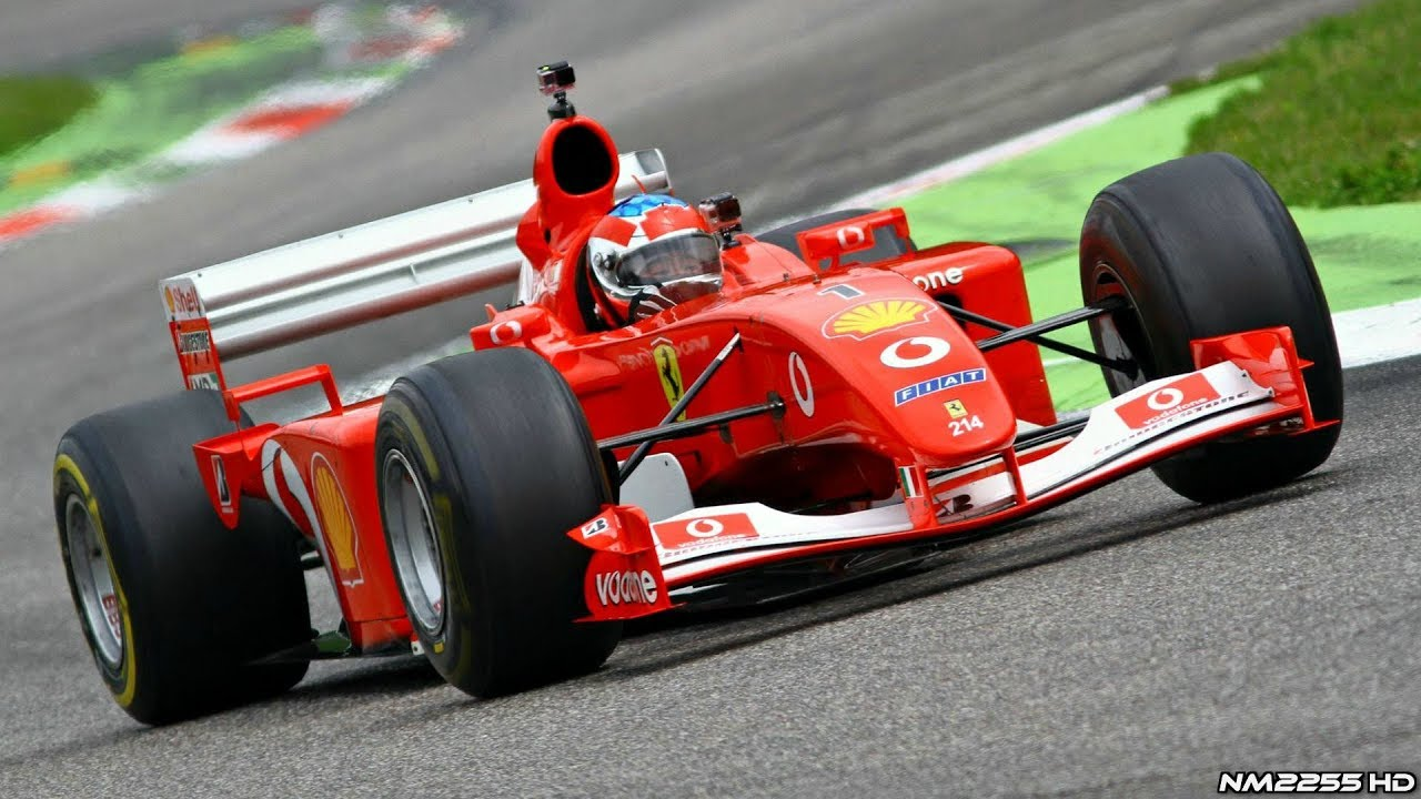 Ferrari F2004 F1 V10 ex Michael Schumacher SCREAMING ...