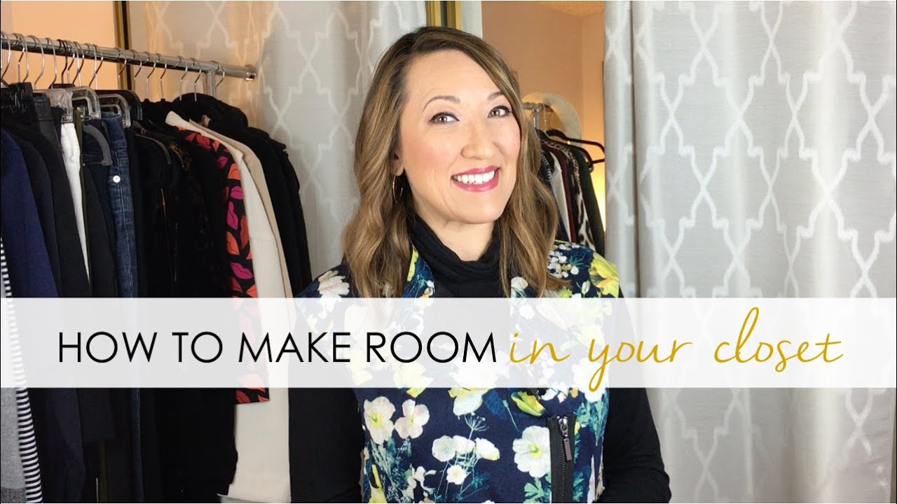 2 Simple Steps To Make More Room In Your Closet