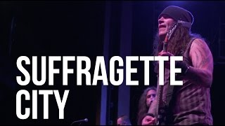 """""""Suffragette City"""" by David Bowie performed by Metal Allegiance"""