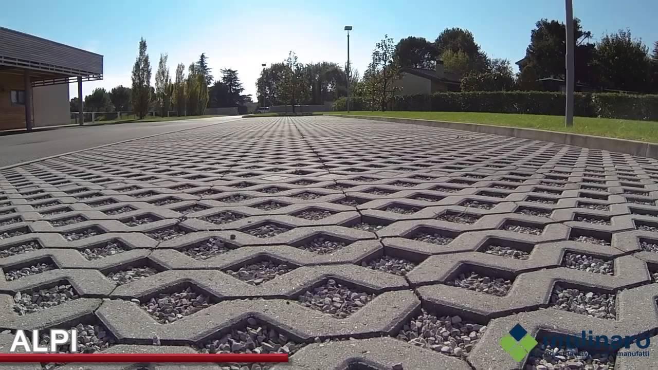 Pavimenti drenanti per esterno youtube - Pavimentazione giardino autobloccanti ...