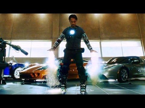 "Iron Man - ""Yeah, I Can Fly"" - First Flight Test (Scene) Iron Man (2008) Movie CLIP HD"