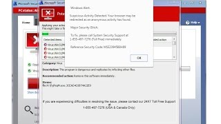 Computer Virus Scam ALERT! DON'T GET SCAMMED!!