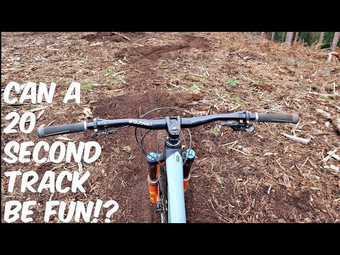 CAN A 20 SECOND MTB TRACK BE FUN?!
