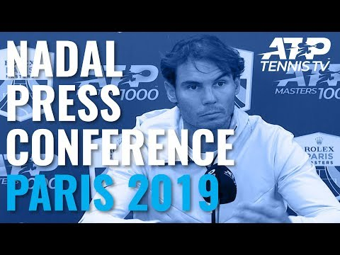 Rafa Nadal Withdraws from Paris 2019 Semi-Final: Full Press Conference