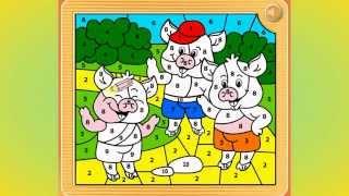 Three Little Pigs, Die drei kleinen Schweinchen, Три поросёнка