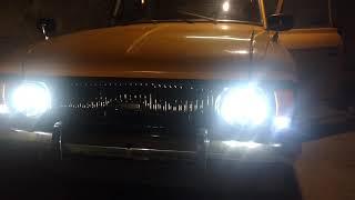 LED фары на ИЖ Комби
