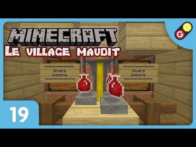Minecraft - Le village maudit #19 On se prépare pour le dragon ! [FR]