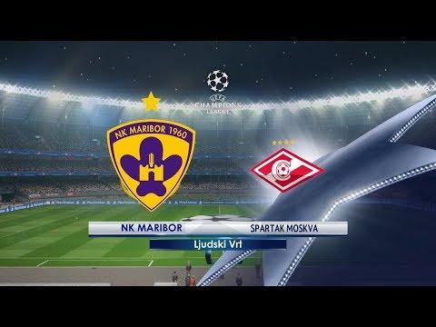 NK Maribor vs Spartak Moscow   13.09.2017   UEFA Champions league 2017/2018