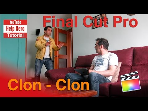 Tutorial efecto Clon (Final Cut Pro X)