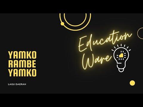Lagu Daerah (Papua) - Yamko Rambe Yamko