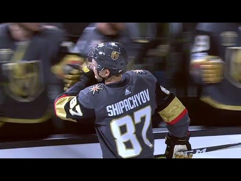 Golden Knights' Shipachyov Gets First NHL Goal In First NHL Game