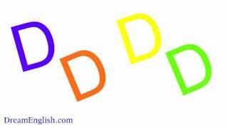 Letter D Easy Phonics For Kids