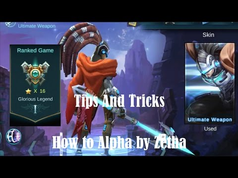 Mobile Legends - Tips and Tricks - How to Alpha by Zetha
