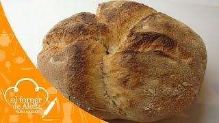 Pan casero con levadura madre