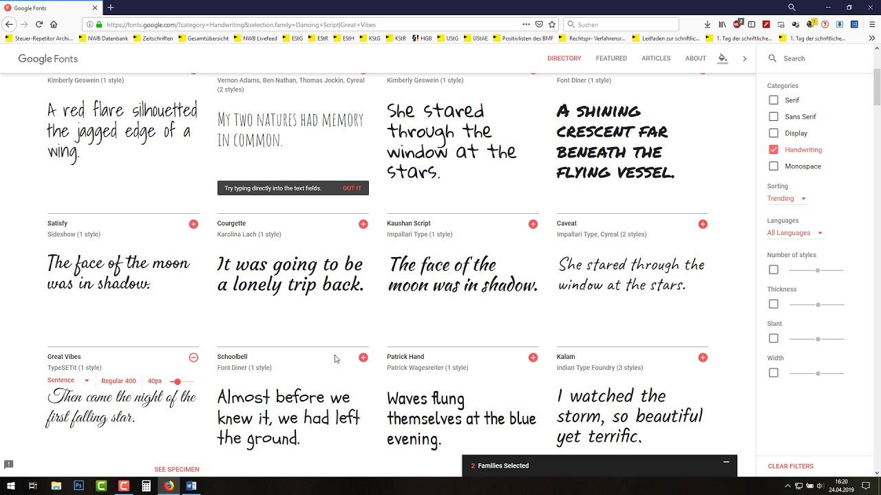 Neue Schriftarten Einfügen Word Gimp Photoshop Open Office Paint Windows 10 Installieren