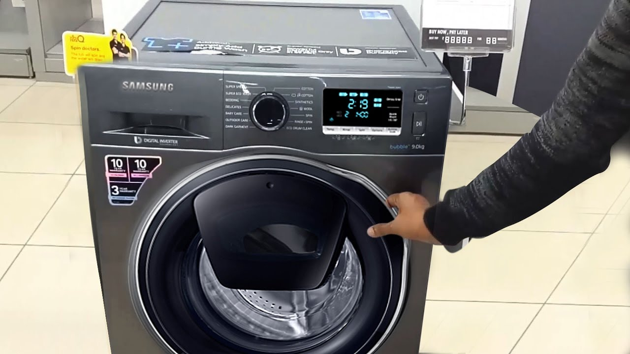 Samsung Front Load Washing Machine Demo Front Load