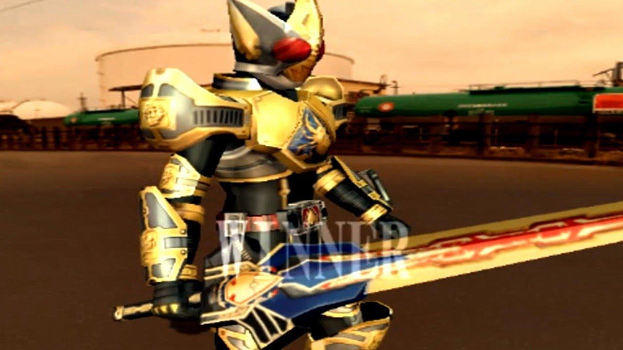 Kamen Rider Blade PS2 (Blade King Form) vs (Chalice) HD - YouTube