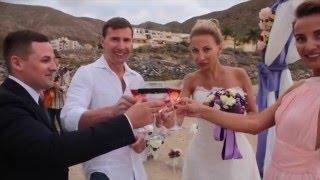 Свадьба Матвея и Татьяны Москвичи на Тенерифе