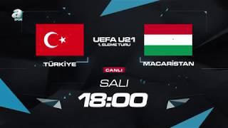 Türkiye –Macaristan Ümit Milli maçı 10 Ekim 2017  Salı saat 18.00'da naklen A Spor'da!