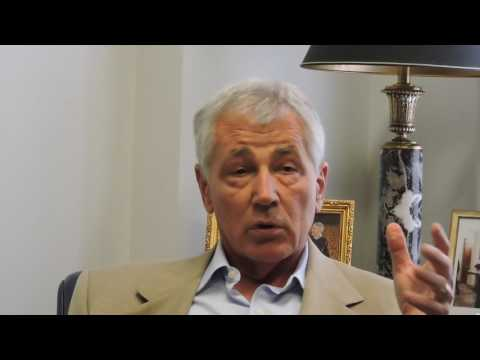 A Conversation with Chuck Hagel