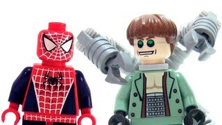 LEGO 4856 Doc Ock's Hideout LEGO Spider-Man 2 Marvel Super Hero Review