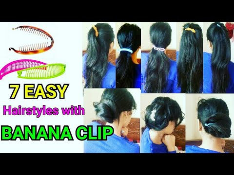 how to use large alligator hair clips