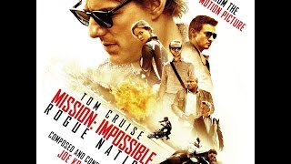 The official soundtrack of Mission: Impossible – Rogue Nation, comp...
