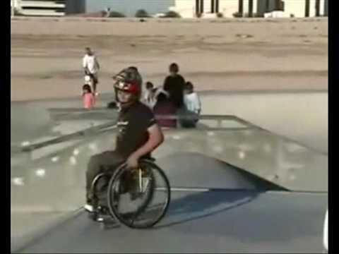 Aaron Fotheringham - Skate na wózku inwalidzkim