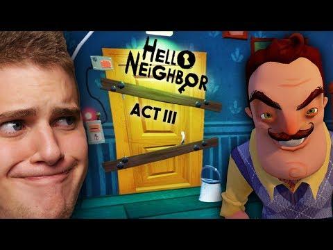 IRÁNY A PINCE! - HELLO NEIGHBOR - ACT III (2. rész) letöltés