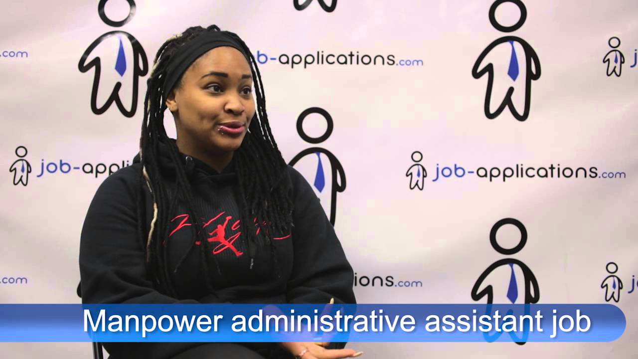 Administrative Assistant Manpower Interview Administrative Assistant
