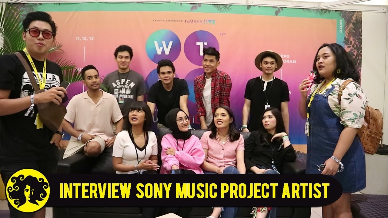 NIGHTSHIFT BACKSTAGE INTERVIEW with SONY MUSIC PROJECT ARTISTS