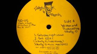 "SCHOOLLY D - Saturday Night (12"") / Side A - 1986"
