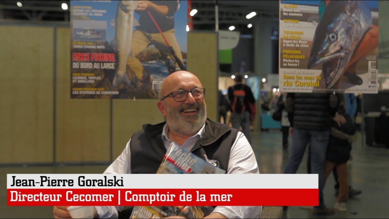 Comptoir de la mer nantes interview de jean pierre goralski salon de la p che en mer 2017 - Salon de la peche a nantes ...