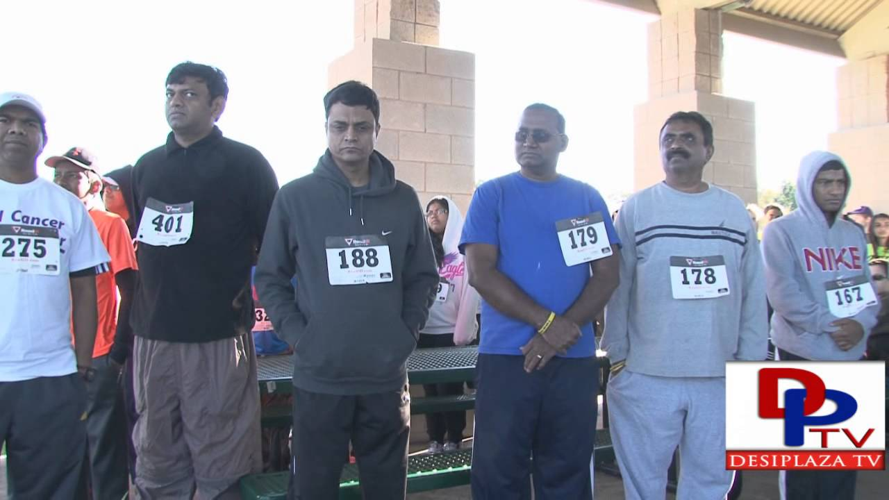 Nikki brother of Nishanth speaking at DATA 4th Annual 5K Run/walk