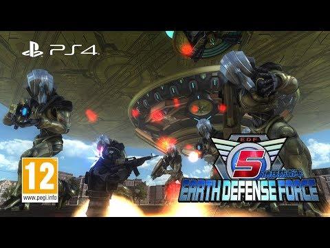 EARTH DEFENSE FORCE 5 - 2nd Trailer thumbnail