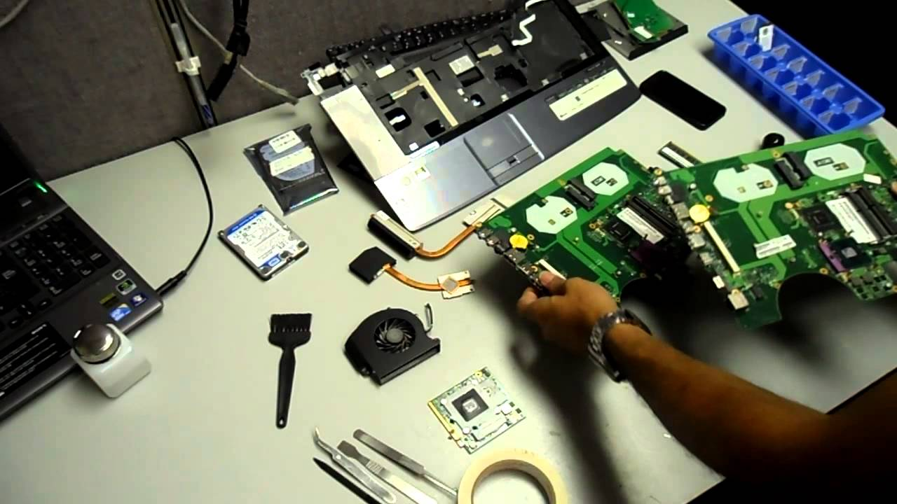 acer aspire 8930 motherboard repair by pcnix toronto 416 223 2525 rh youtube com
