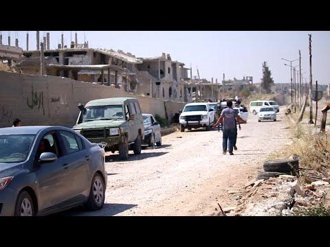 الجيش السوري يسيطر على درعا  - نشر قبل 3 ساعة
