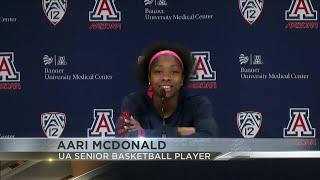McDonald Talks About Excitement Of WNBA Draft