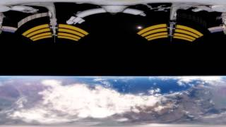 Float In Space 360km Above Earth - VR / 360 video