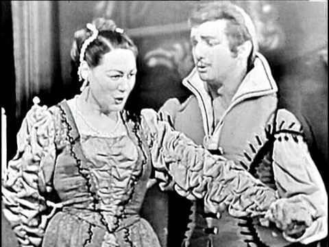 Opera   La forza del destino de Giuseppe Verdi Renata Tebaldi, Mario Del Monaco, Franco Corelli, Bas