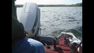 1988 40 HP Johnson Outboard Tiller Power Trim Great running condition $1400 obo