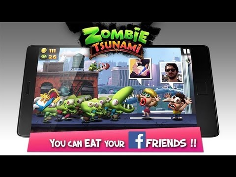 Zombie Tsunami For Samsung Galaxy W i8150 (Gameplay)