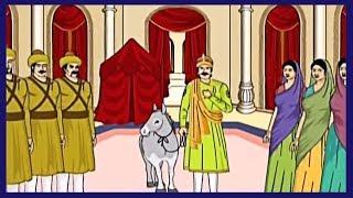 The Magical Donkey   The Magical Donkey Story In Hindi   Akbar Birbal The Magical Donkey