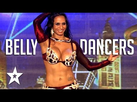 Belly Dancers On Got Talent | Amazing Belly Dancing Compilation | Got Talent Global