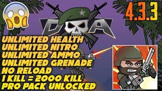 Unlimited Health In Mini Militia
