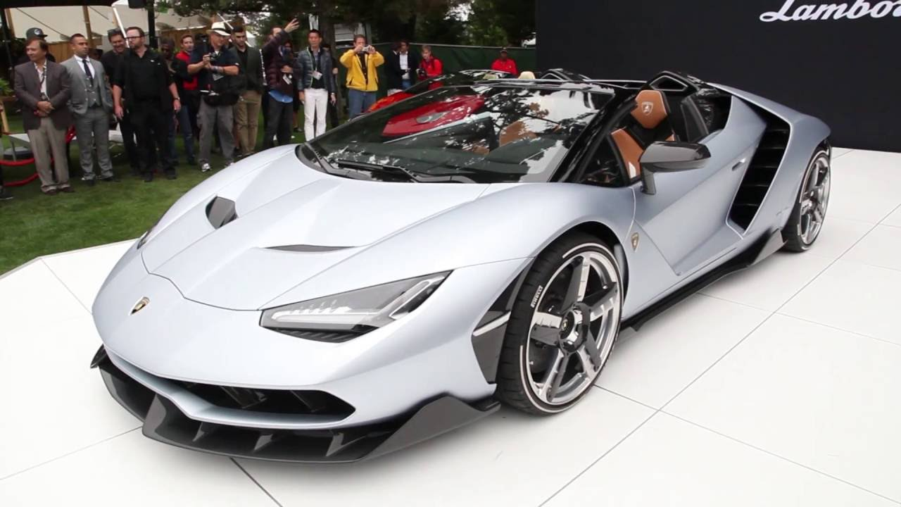 Lamborghini Centenario Roadster Youtube
