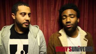 The Backwash With DB & Childish Gambino: Speaks On Upcoming Album Because The Interenet