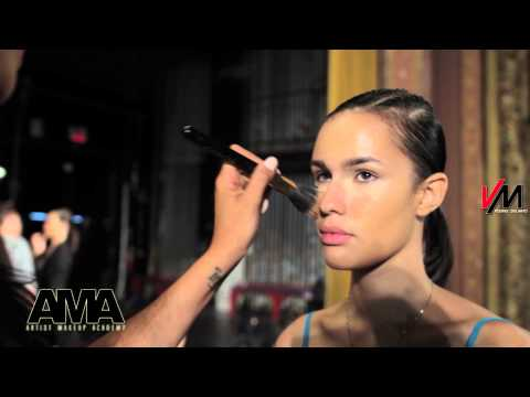 New York Fashion Week || UFW || Sponsor AMA Artist Makeup Academy ||